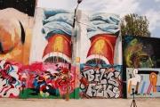 Graffiti Poblenou Barcelona 003-007