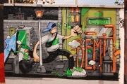 Graffiti Poblenou Barcelona 003-008
