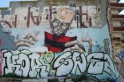 Graffiti Poblenou Barcelona 003-011