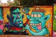 Graffiti Poblenou Barcelona 003-017