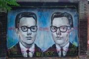 Graffiti Poblenou Barcelona 003-019