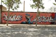 Graffiti Poblenou Barcelona 003-024